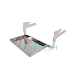 Gynae Tray, Rail Mount – Stainless Steel