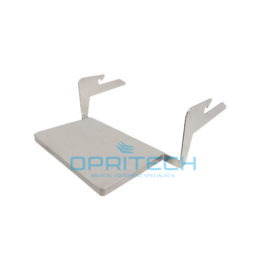 Gynae Shelf, Rail Mount – Stainless Steel