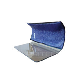 Curved Polycarbonate Toboggan 400mm With Slip-on Foam Pad