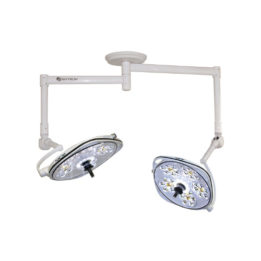 Aurora IV AUA55 Dual LED Surgical Light, On 900/1100mm Arms
