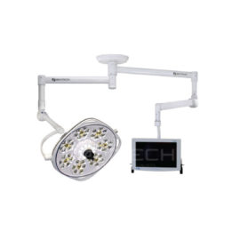 Aurora IIII LFSAUA7 160,000 Lux LED On 1100mm Radial Arm + 1300mm Monitor Arm