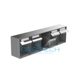 Overbridge Rack Of 5 Tilt Bins (107*107*147 Mm)