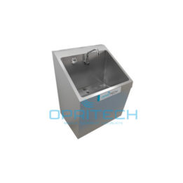Scrub Sink Single Bay, Wall Mount