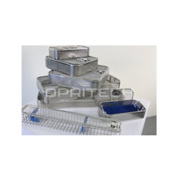 Perforated SS Sterilizer Baskets