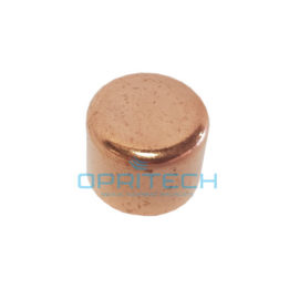 Med Gas Copper End Cap