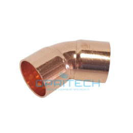 Med Gas Copper Elbow 45 Degree