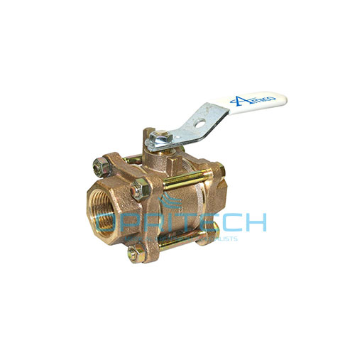 Isolation Valve threaded, Dual Gauge Port, Locking, 1/2""