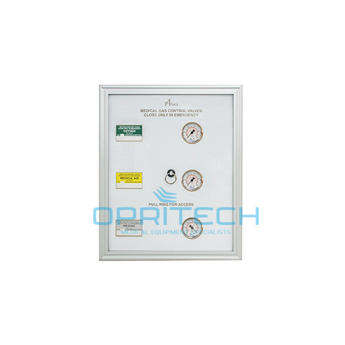 Zone Indicator Panel Combo With Gauge, 1-2 Valves