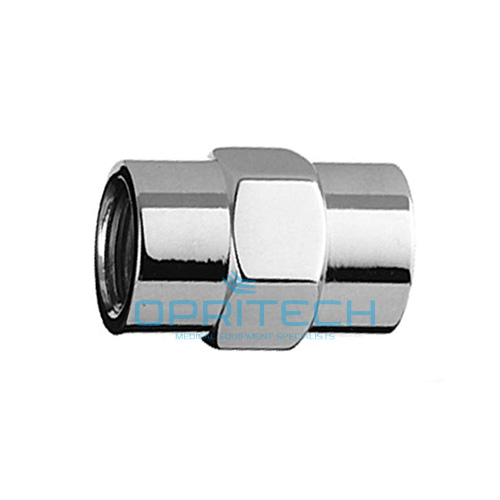 "Pipe Thread Female to Female Coupler, 1/8"" NPT"