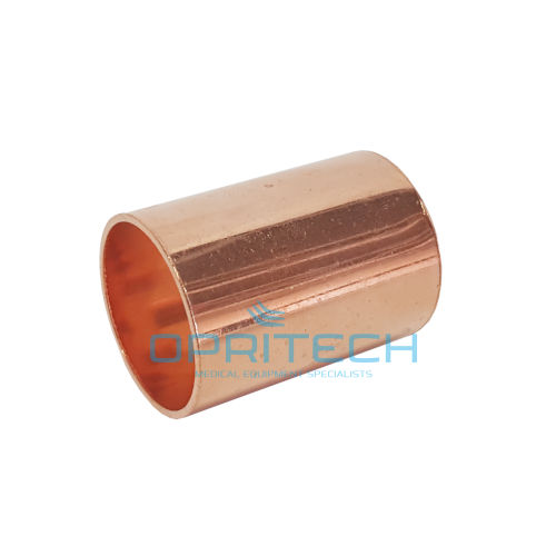 Med Gas Copper Straight Coupler