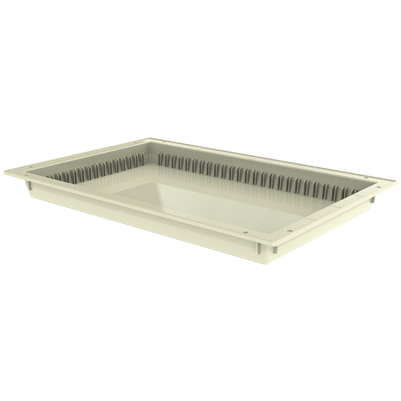 TRAY 5h X 60 X 40 – ABS, Cream Color