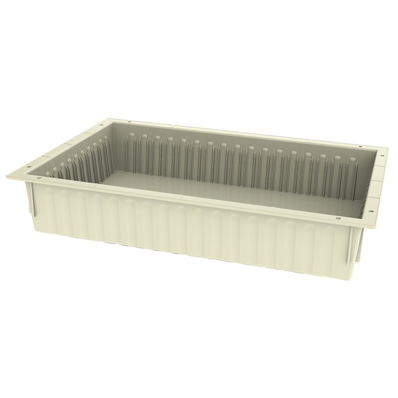 TRAY 10h X 60 X 40 – ABS, Cream Color