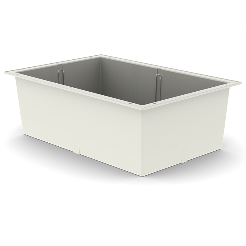 TRAY 20h X 60 X 40 – ABS, Cream Color