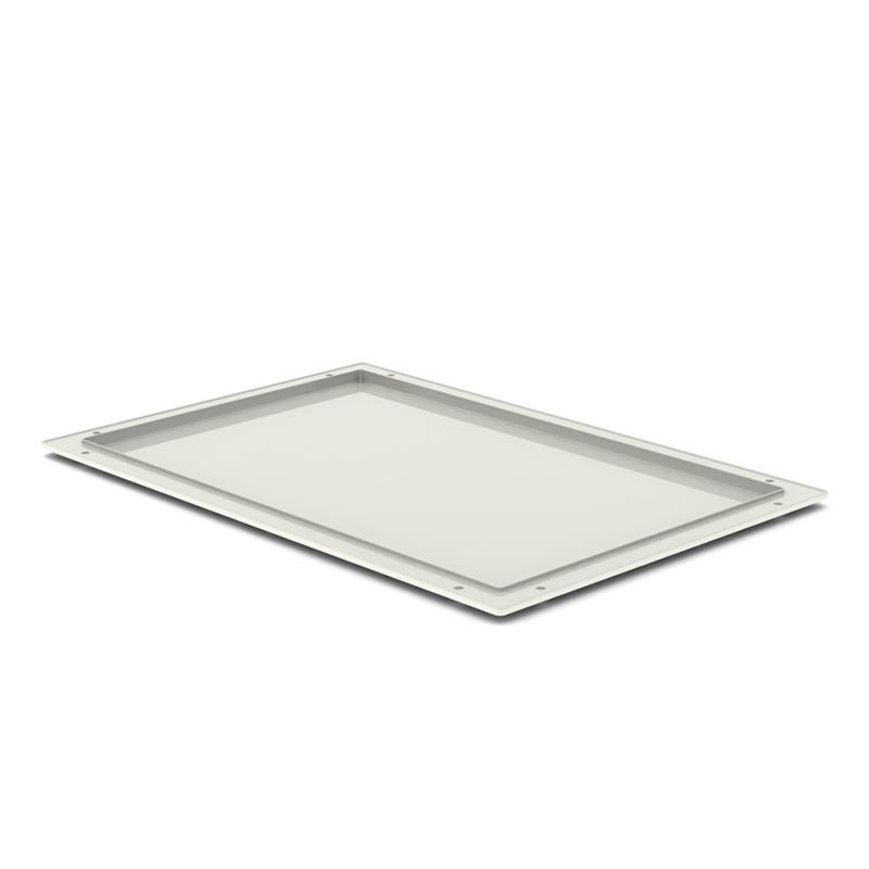 TRAY 10h X 60 X 40 – ABS, Cream, Non Divisible