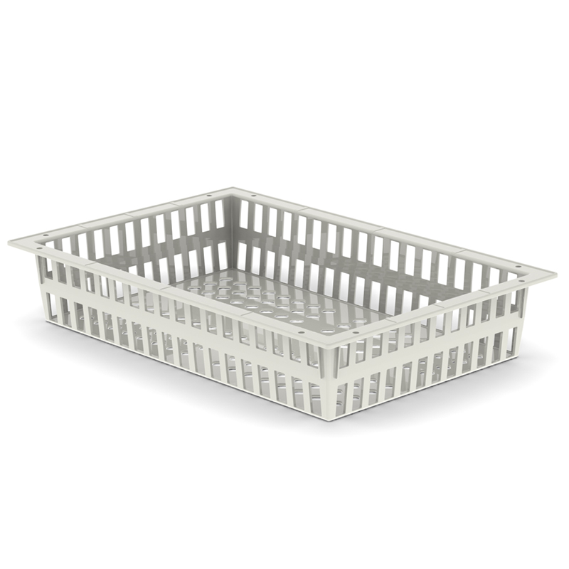 BASKET 10h X 60 X 40 – ABS, Cream Color