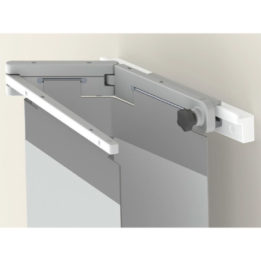 Wall Rack For Table Mounted Lower Body Shield