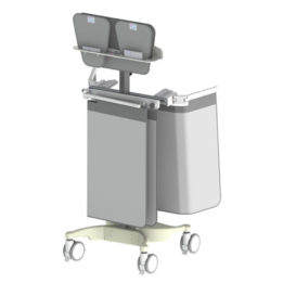 Mobile Rack For Table Lower Body Shields And Top Shields